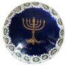 Menorah Murano Glass Paperweight