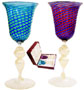 La Scala Murano Wine Glass Set Mouthblown in Murano