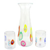 Crystal and Millefiori Carafe