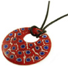 Red/Blue Millefiori Donut 18inches