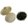 Stars & Moon Pillbox Oval