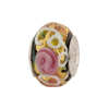 Black Serenissima Murano Glass PERLAVITA BIMBI 2.5mm Hole