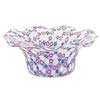 Spring Flowers Millefiori Glass Bowl