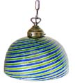 Emisfero Venetian Glass Hanging Light