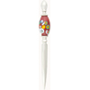 Dark Red Millefiori Slices Murano Glass Letter Opener