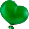 Oval Emerald Boro Glass Hanging   Balloon, Large ~ 4 1/2 Inch