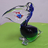 Pelican with Fish Authentic Murano Glass