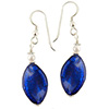 Cobalt Murano Glass Earrings