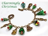 Charmingly Christmas Swarovski Tree and Christmas Charms