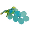 Murano Glass Grape Cluster - Aqua
