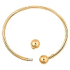 PERLAVITA Vermeil Bangle, 7.5 Inch