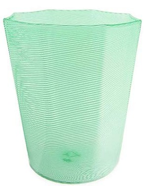 Filigrana Octagonal Glass - Verde