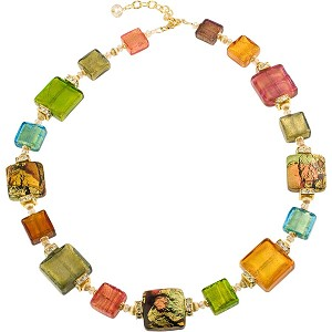 Machiavelli Murano Glass Necklace