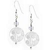 Preziosi Millefiori Earrings - Clear