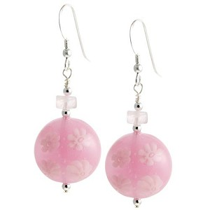 Preziosi Millefiori Earrings - Pink