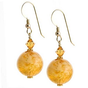 Nuvola Earrings - Topaz