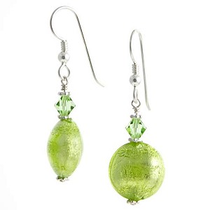 Schissa Earrings - Green