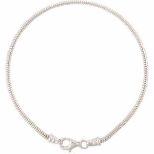 PERLAVITA DUE 7 Inch Sterling Silver Bracelet 2mm
