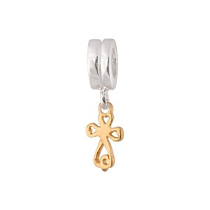 Charming Little Cross - Gold