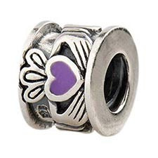 Irish Love Bead - Violet