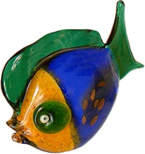 Brilliant Murano Glass Fish