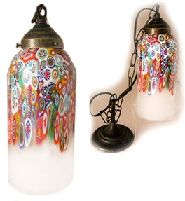 Wildflower Millefiori Hanging Lamp
