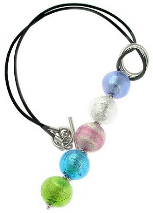 Gaia Necklace - Silver Multi