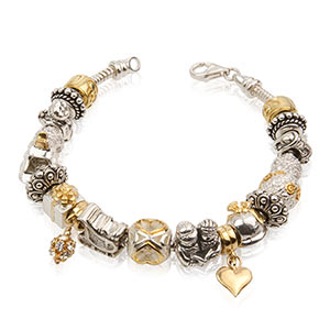 PERLAVITA your life...in beads fits Pandora, Troll, Chamilia