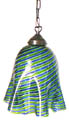 Large Fazzoletto Murano Glass Hanging Lamp