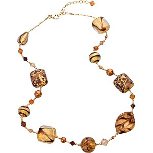 Chocolate Passion Necklace, 18-20 Inch