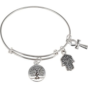 Believe in a Sign CellaBella Adjustable Sterling Silver Bracelet 8-9.5 Inches