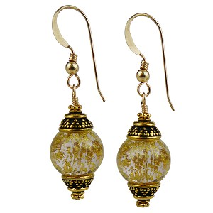 Ca'd'Oro Gold Foil Earrings