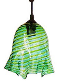 Zanfirico Murano Glass Hanging Lamp